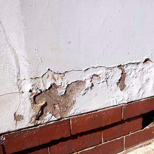 Damp proofing - external walls